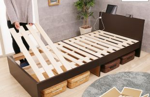 コンセント付きベッド