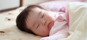 すやすやと気持ちよさそうに眠る赤ちゃんの姿